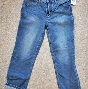 NWT free people cropped ankle jeans